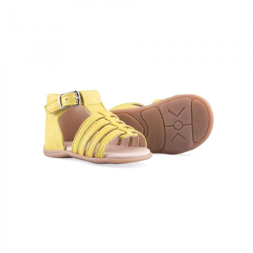 Sandália pré-andantes de tiras