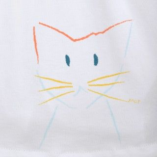 T-shirt bebé Cat