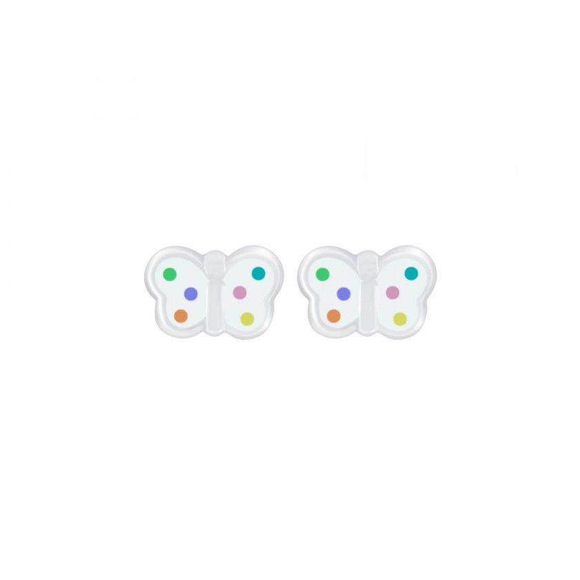 Silver butterfly stud earrings Stud Earrings