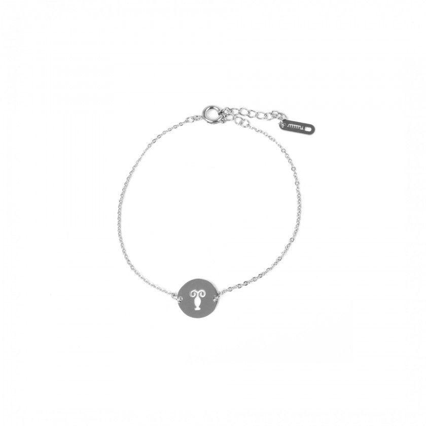 Capricorn steel bracelet