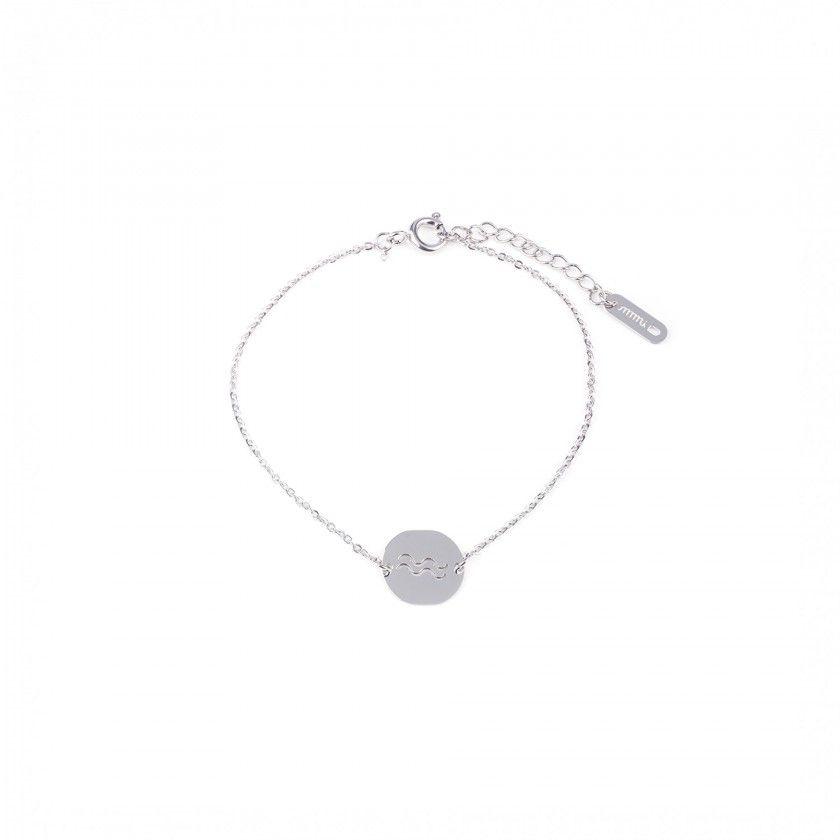 Aquarius steel bracelet