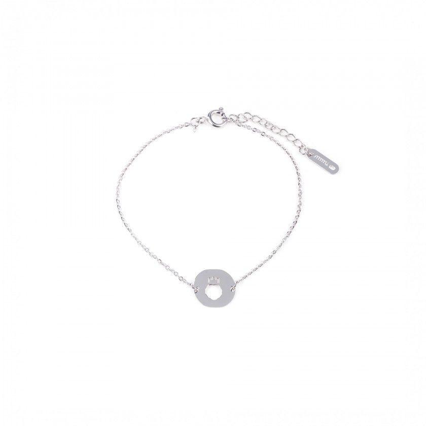 Leo steel bracelet