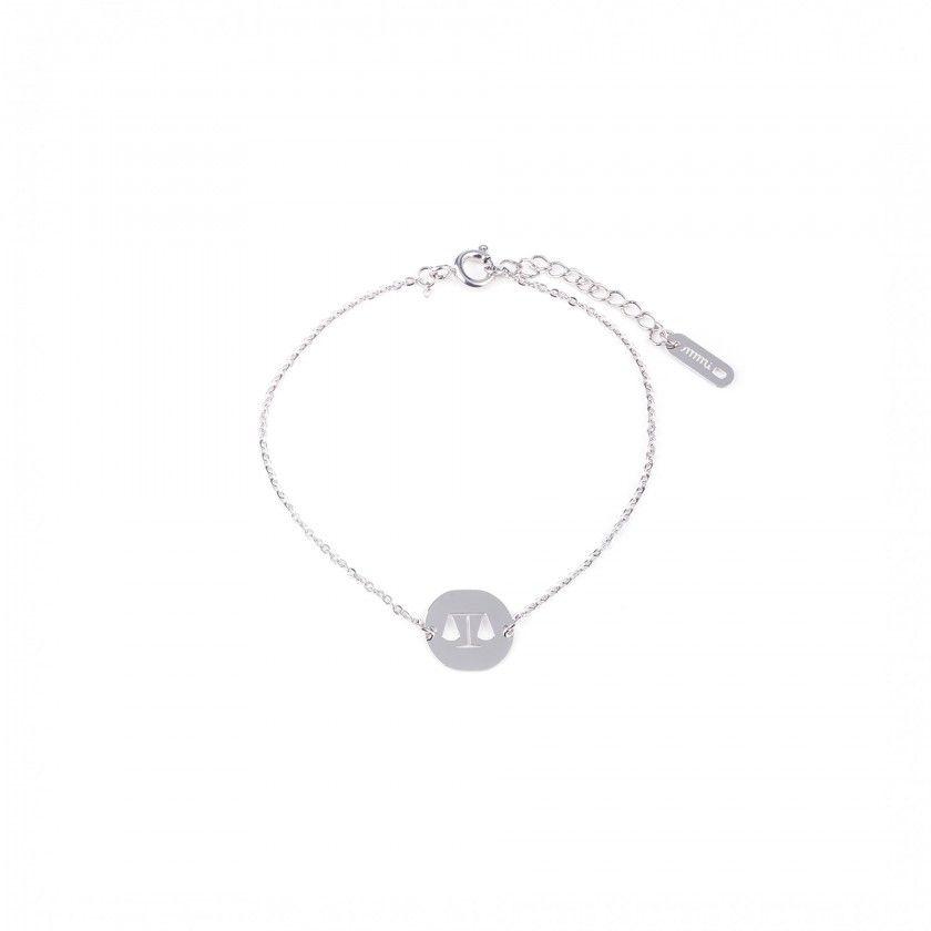 Libra steel bracelet
