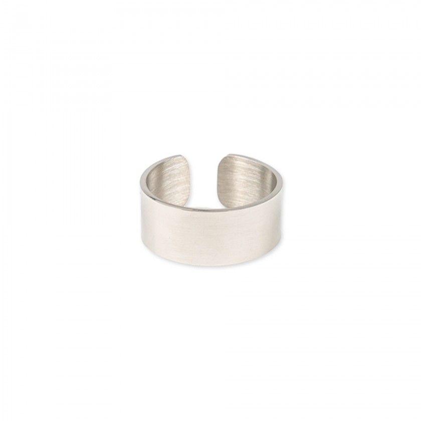 Large steel ring