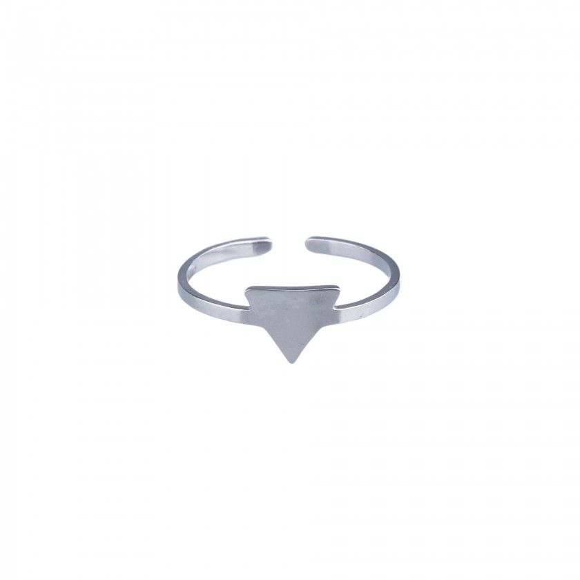 Steel full triangle ring