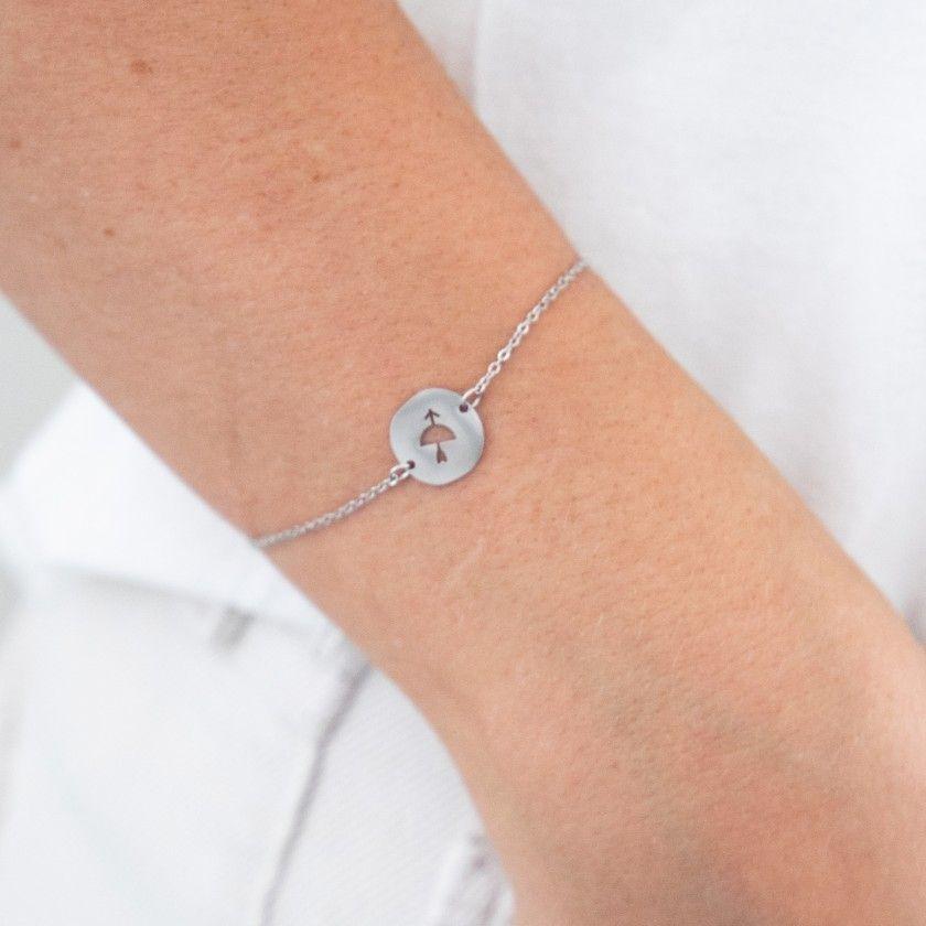 Sagitarius steel bracelet