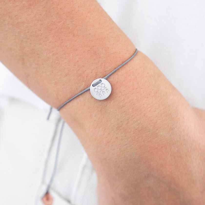 1 girl cord and steel bracelet