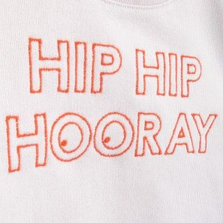 Sweatshirt organic cotton Hey Soleil Hip Hip
