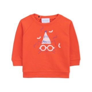 Sweatshirt organic cotton Hey Soleil Party Animal