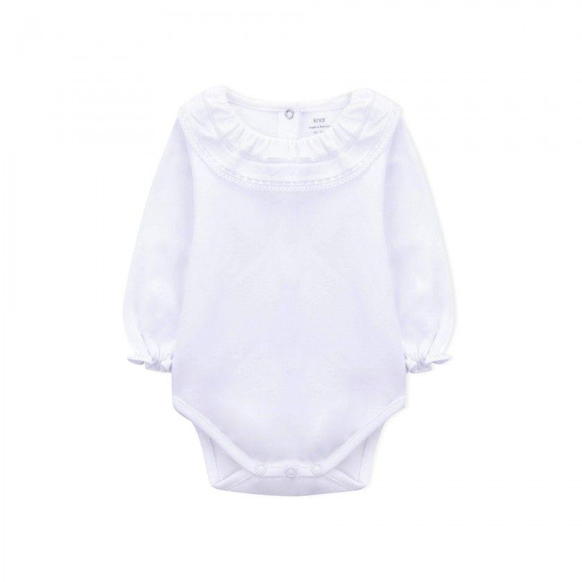 Body manga comprida bebé Kurara