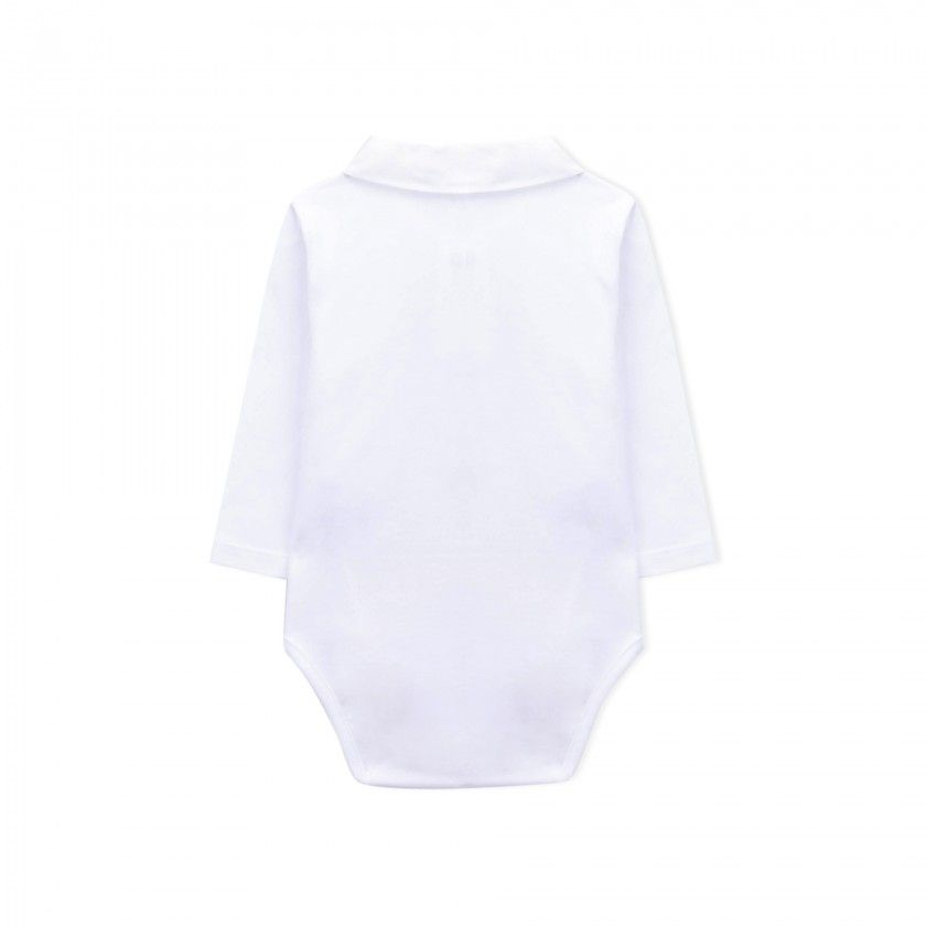 Body manga comprida bebé Ritorupanda