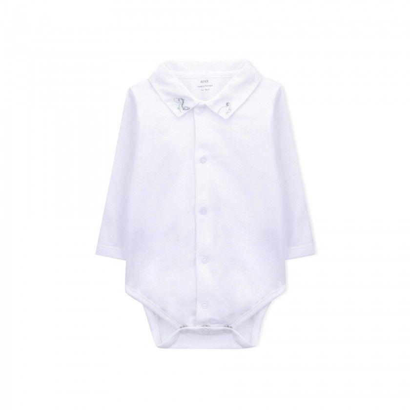 Body manga comprida bebé Chisana Ryu