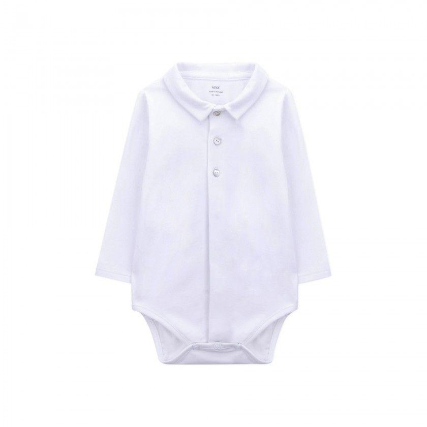 Body manga comprida bebé Kazuaki