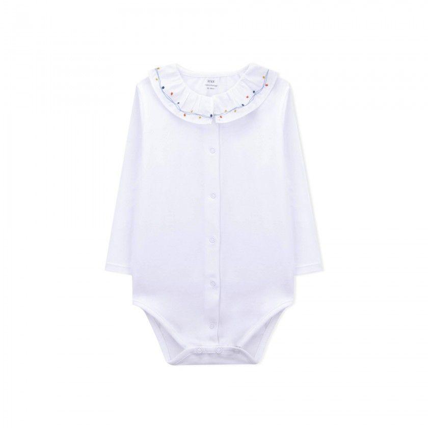 Body manga comprida bebé Michi