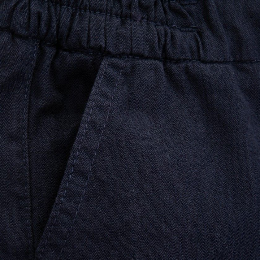 Trousers boy twill Kaiteki