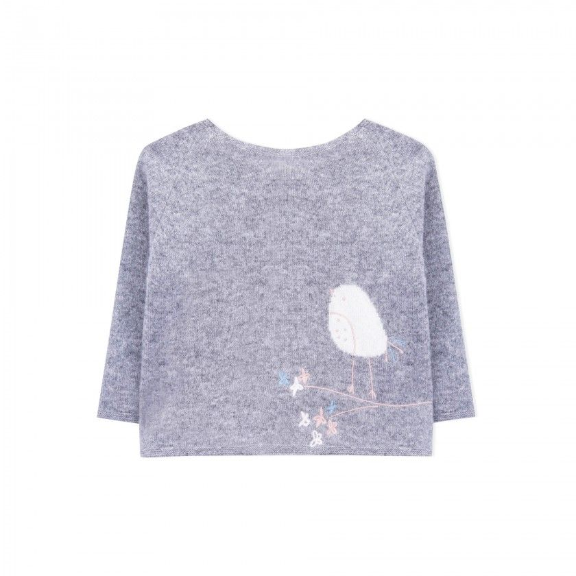 Sweater baby wool Nori