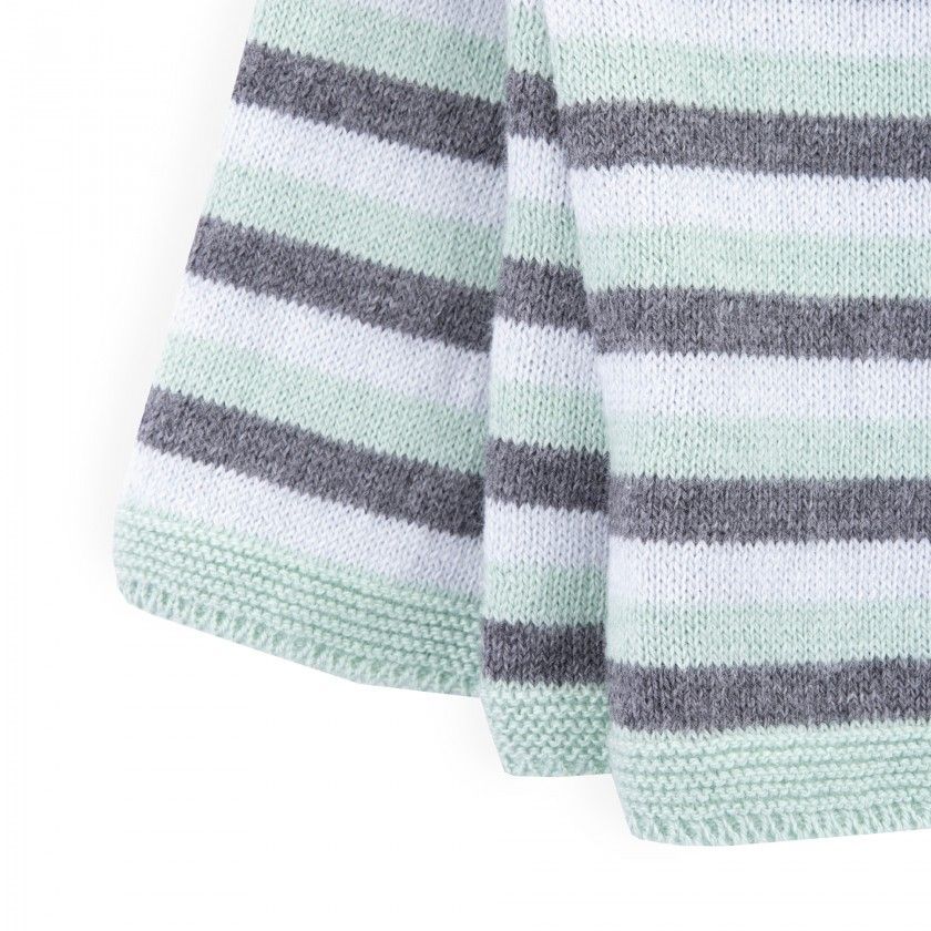 Camisola recém-nascido tricot Narihito