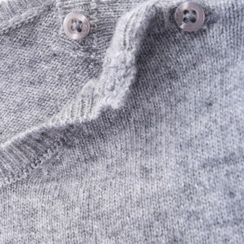 Camisola bebé lã Nobu