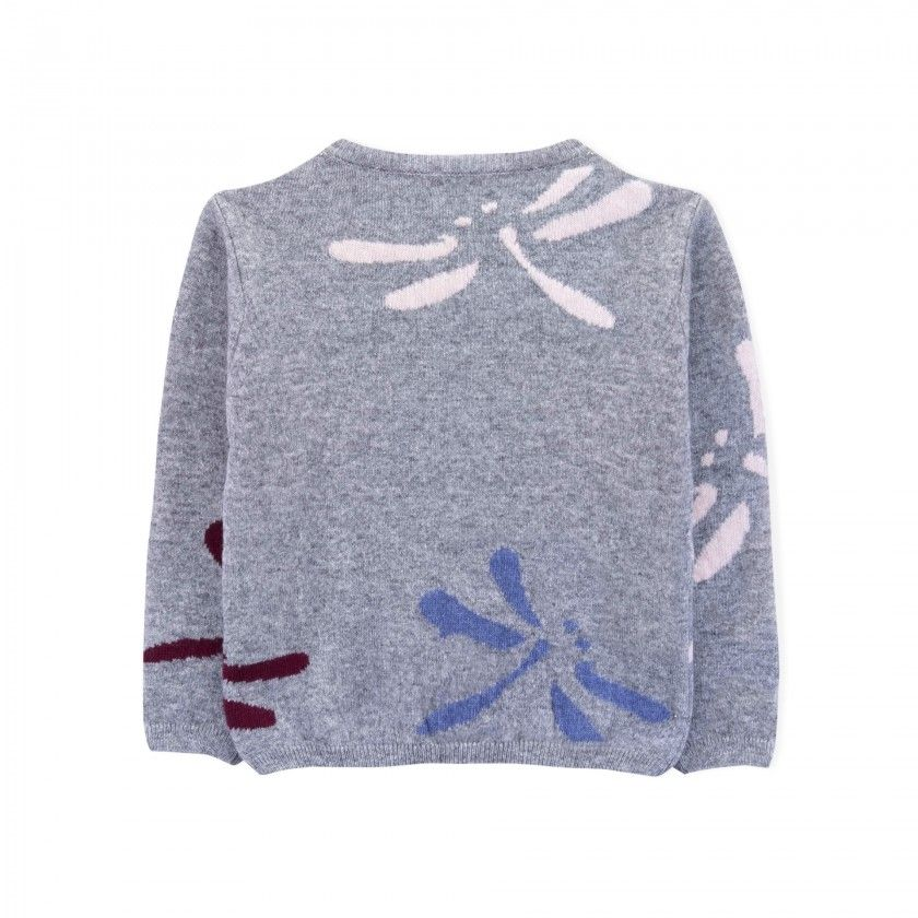 Camisola menina lã Hiko