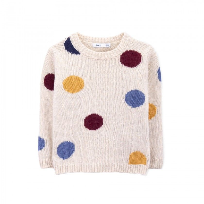 Sweater girl tricot Dotto