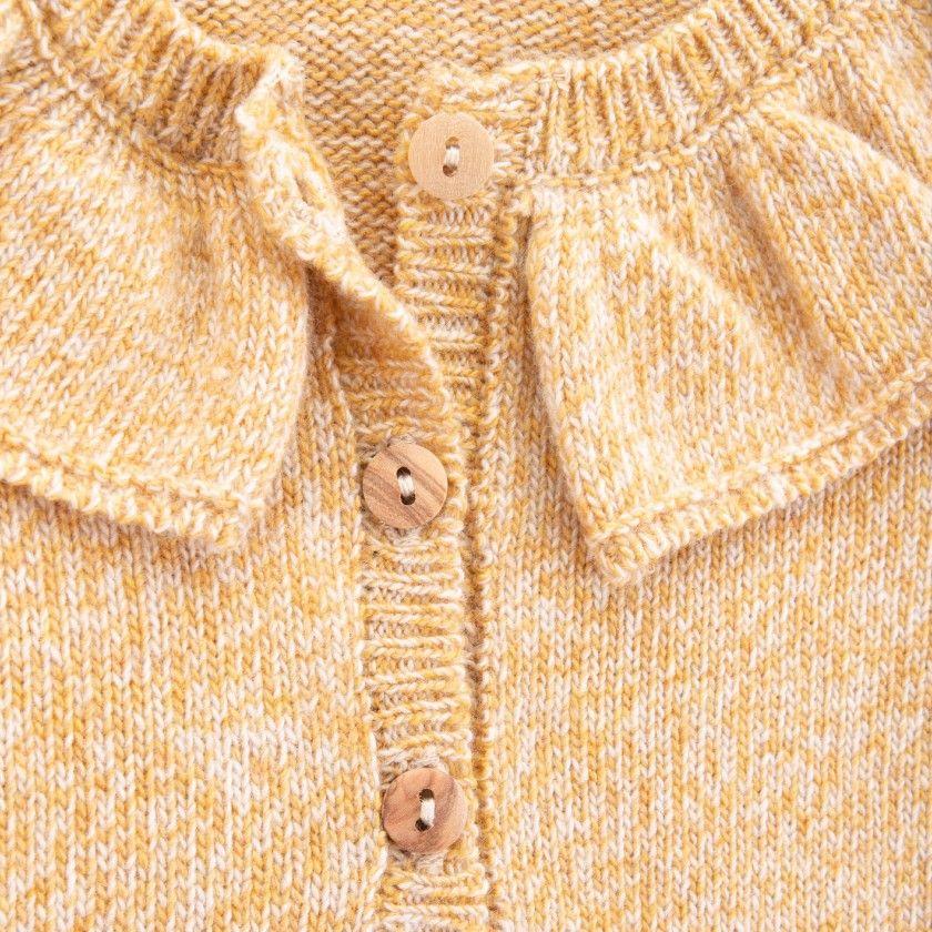 Camisola menina lã Chiasa