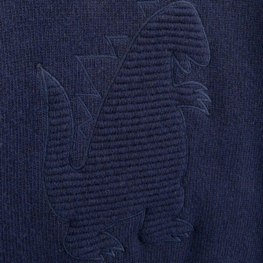 Camisola menino lã Godzilla