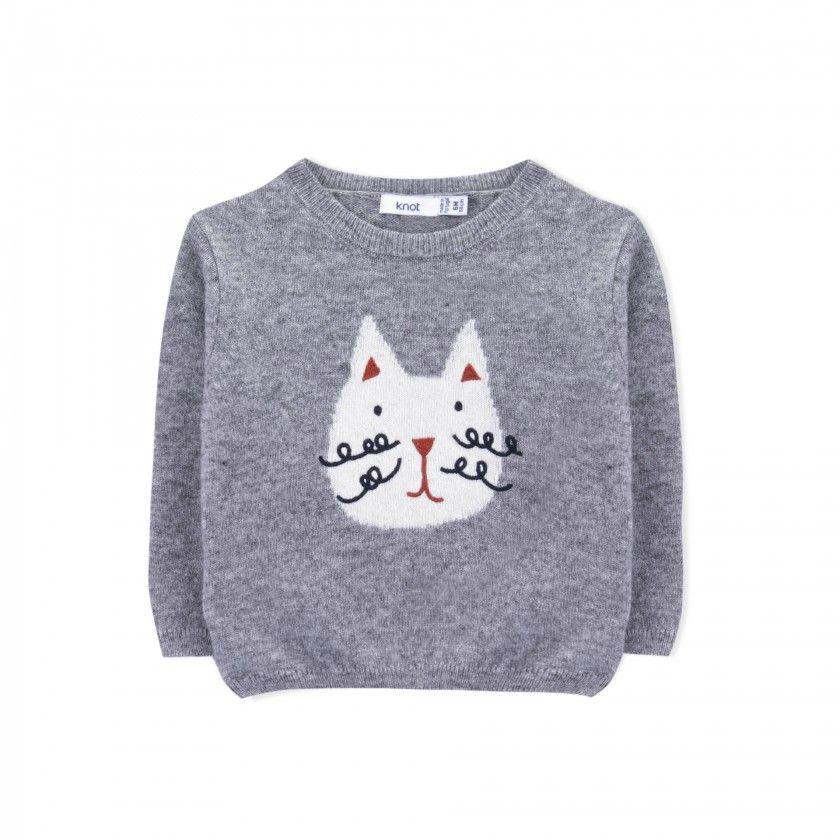 Sweater baby wool Neko