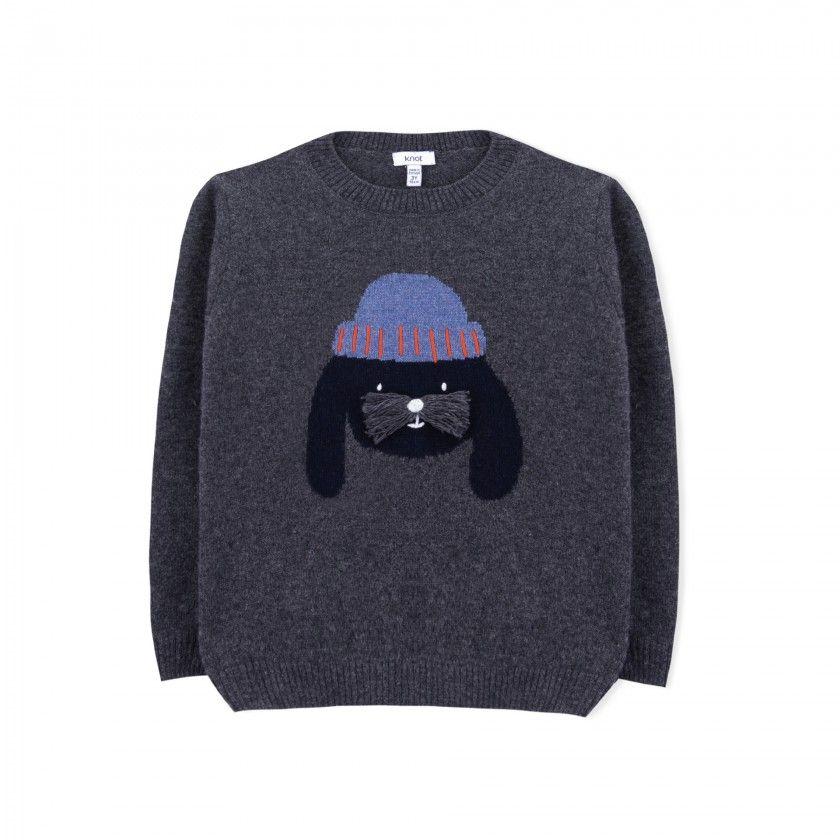 Sweater boy wool Inu