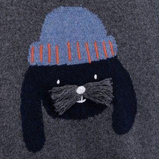 Camisola menino lã Inu