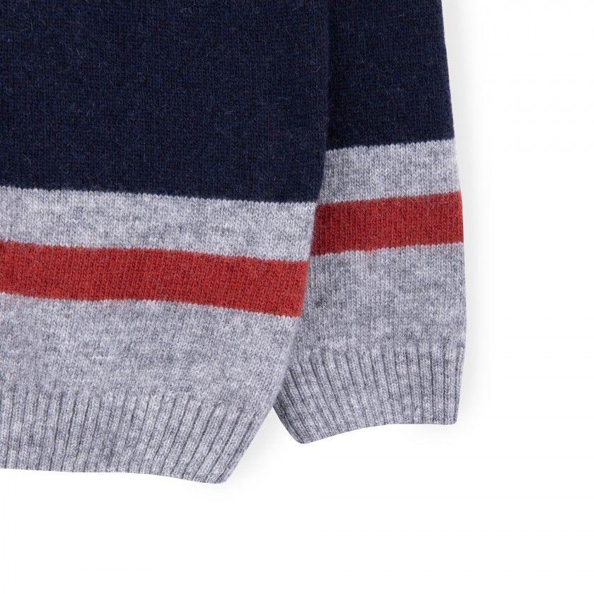 Sweater boy wool Beru