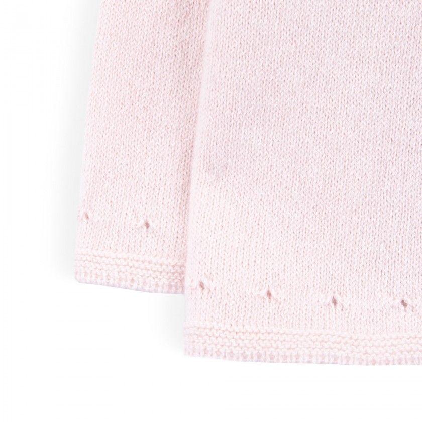 Casaco recém-nascido tricot Mio