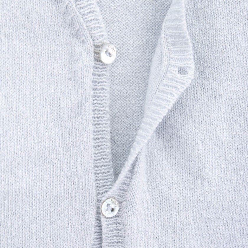 Casaco recém-nascido tricot Gou