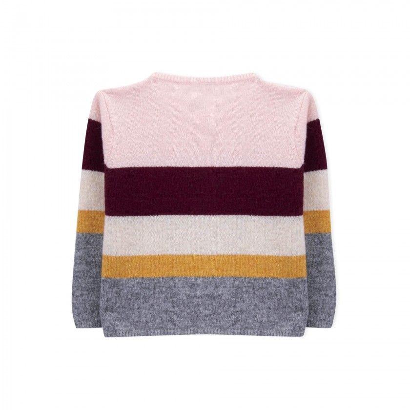 Casaco bebé tricot Nikko