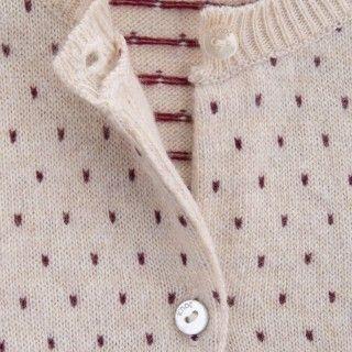 Casaco bebé tricot Suki