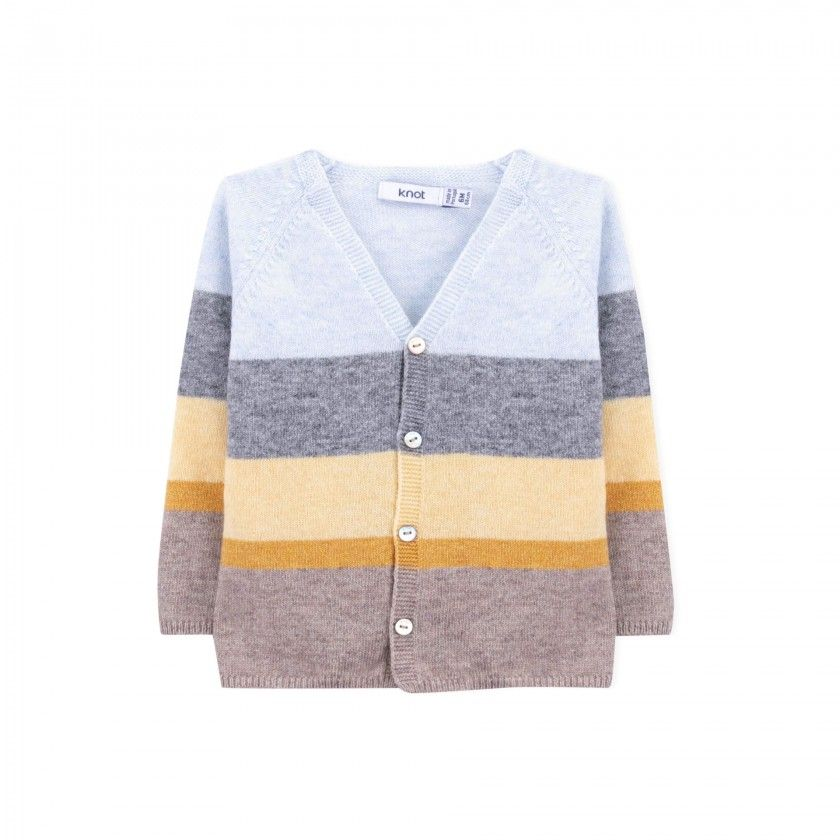 Casaco bebé tricot Wataru