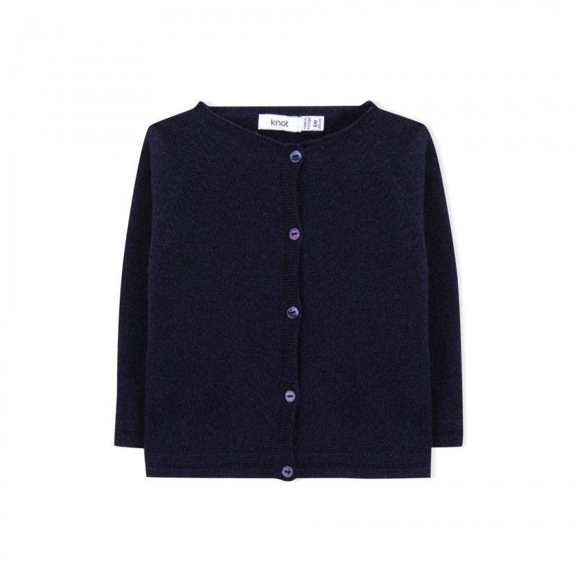 Baby coat tricot Sato