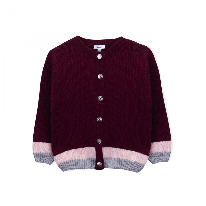Casaco menina tricot Airi