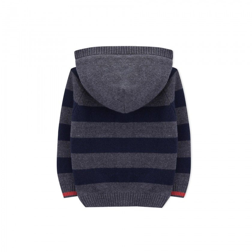 Boy coat tricot Samui