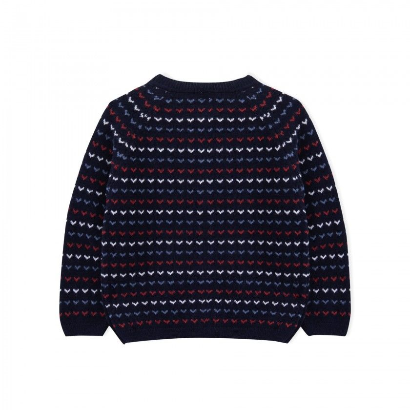 Girl coat tricot Yokina