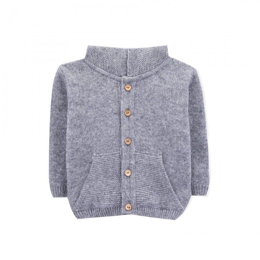 Baby coat tricot Thunder