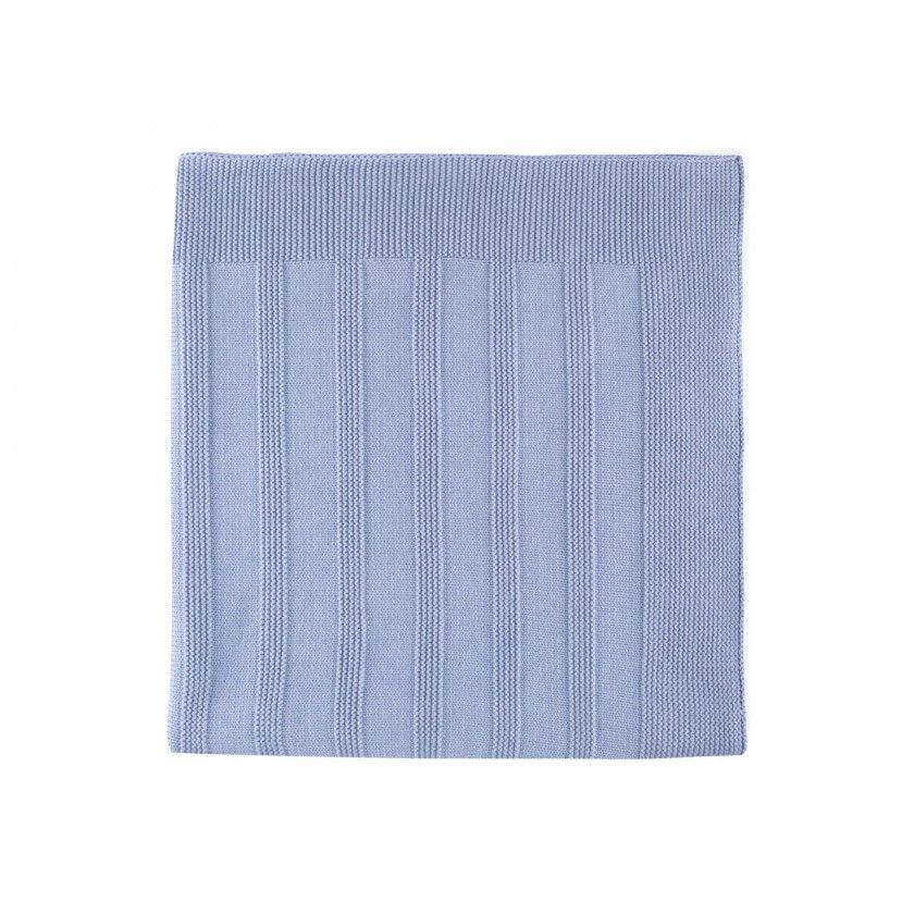 Newborn knitted blanket Aito