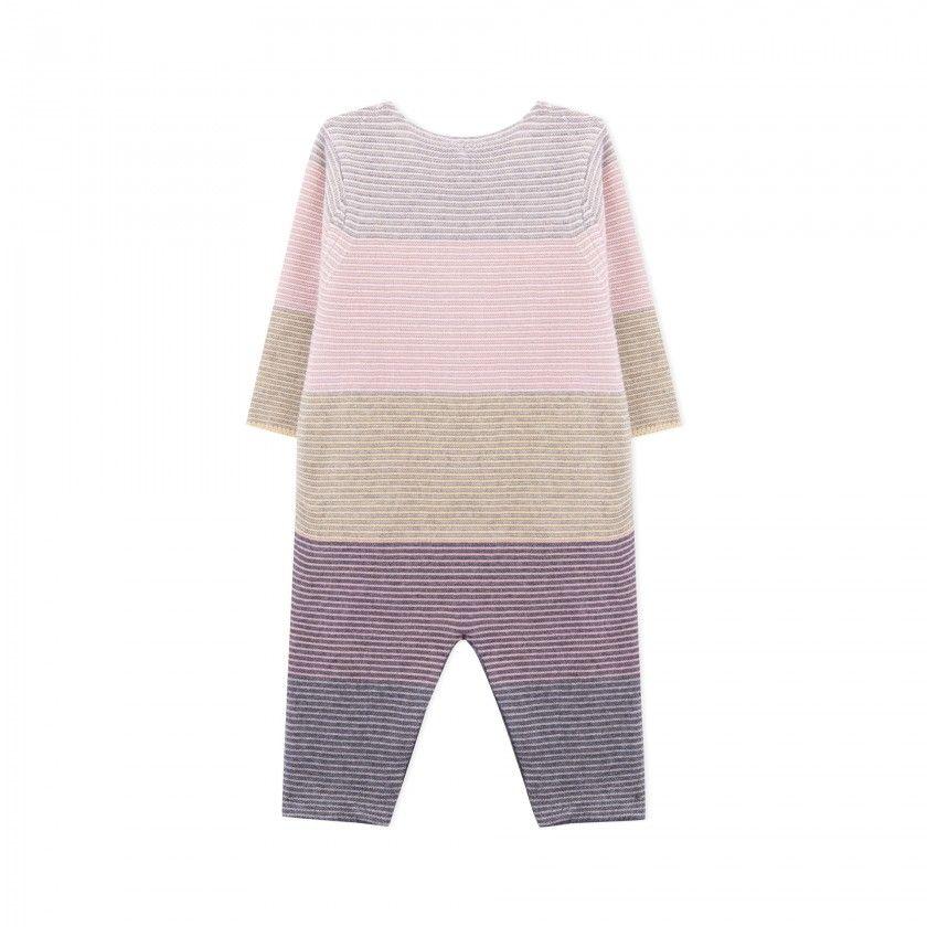 Macacão recém-nascido tricot Mihoko