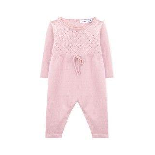 Newborn knitted overalls Hana
