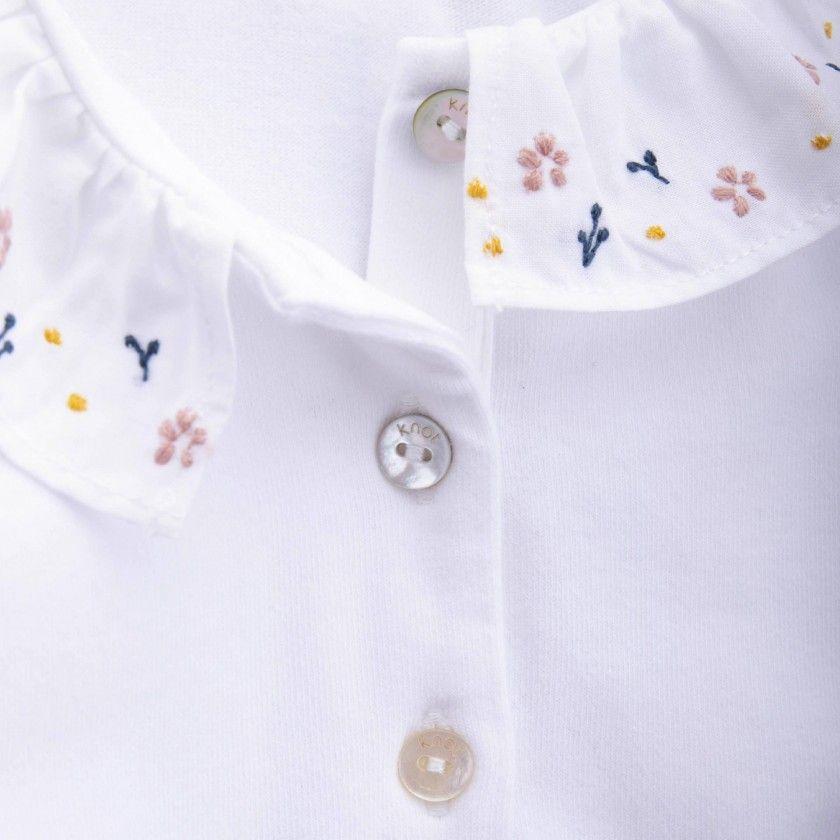 Pólo bebé algodão Nanako