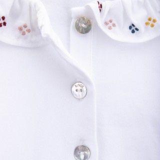 Pólo menina algodão Miwa