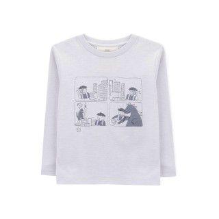Boy long sleeve t-shirt organic cotton Manga