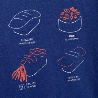 Boy long sleeve t-shirt organic cotton Sushi