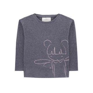 Girl long sleeve t-shirt cotton Usagi