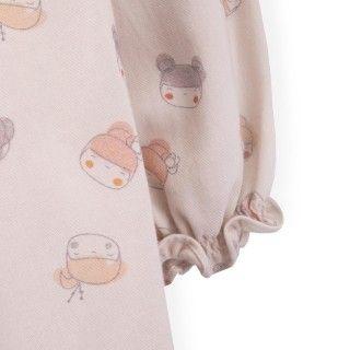 Vestido bebé algodão Naomi