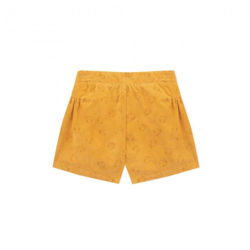Shorts girl corduroy Masumi